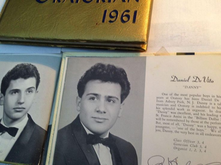 I see your Keegan Michael Key picture and go all in with my 1961 Danny Devito high school picture.