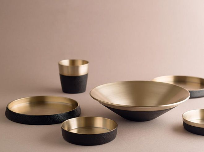 DaMoon Collection – Brass Lacquerware Designed by Chaehoon Moon