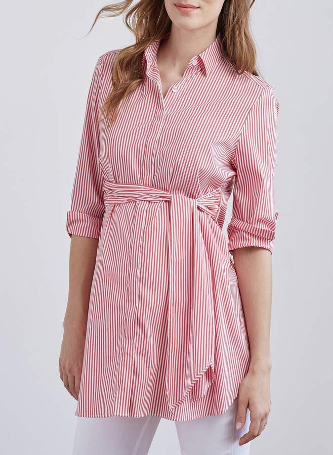 e6e45dbbf1d0b Isabella Oliver Dora Maternity Shirt | Maternity | Pregnancy shirts ...