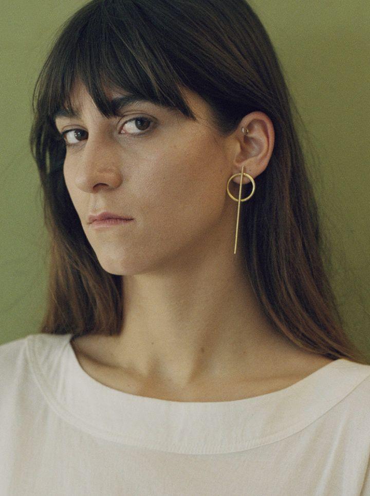 The Mama Kin / long Q earrings