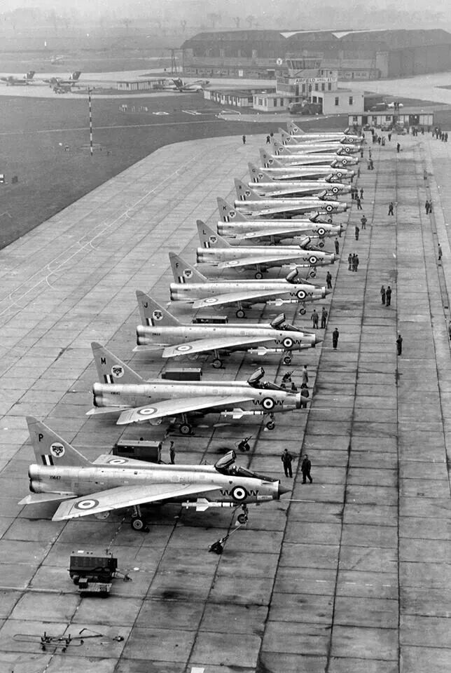 English Electric Lightnings.