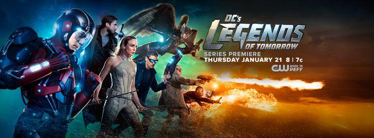 #LegendsOfTomorrow Season Premiere on Thursday, January 21 at 8/7c on The CW.