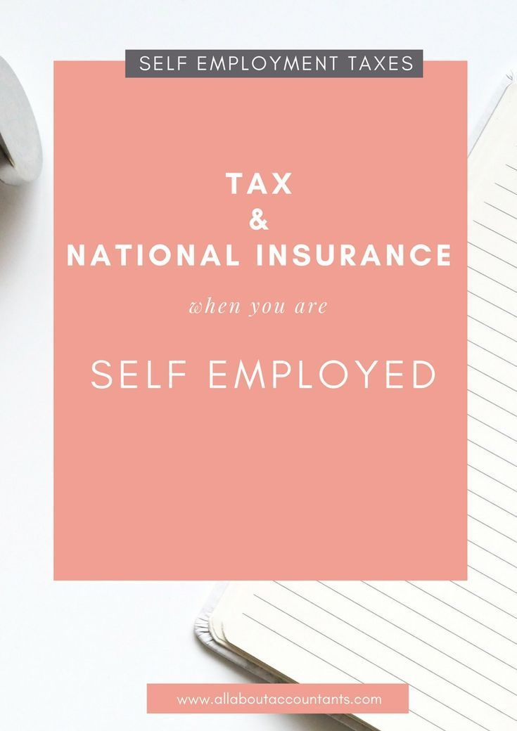 Understanding Taxes When You Are Self Employed Is Often Confusing I Ve Put Together A Complete Summary To Explain What Taxes Financial Planning For Couples Small Business Accounting National Insurance