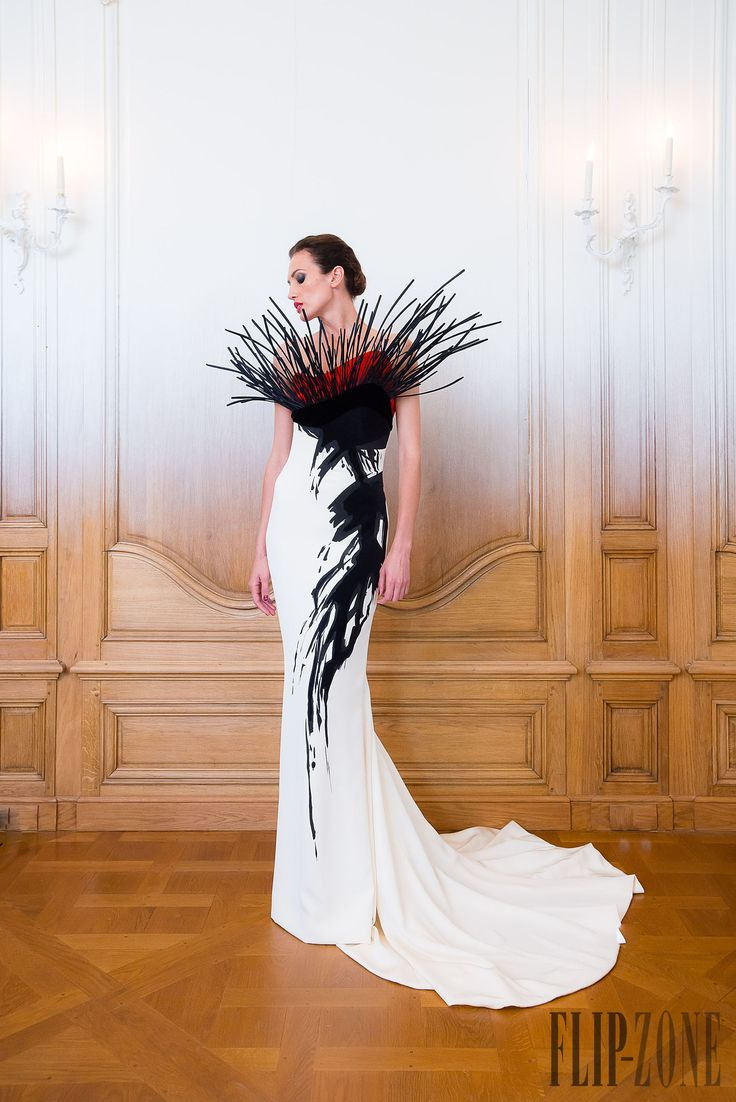 Stéphane Rolland Fall-winter 2014-2015 - Couture - http://www.flip-zone.net/fashion/couture-1/fashion-houses/stephane-rolland-4810