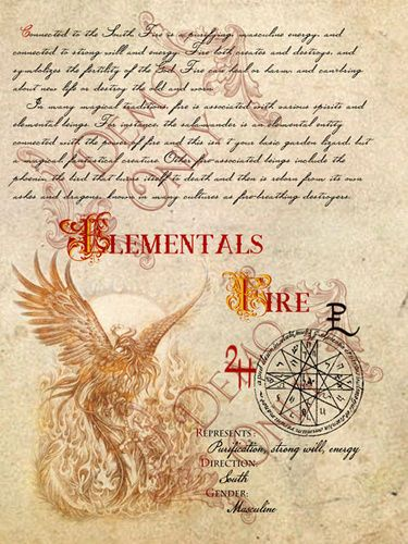 BOS ~ Fire element page