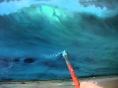 ATLANTIC WAVES PART ONE OIL PAINTING DEMONSTRATION REVISED. - YouTube