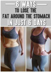 6-ways-to-lose-fat-around-the-stomach-in-just-6-days