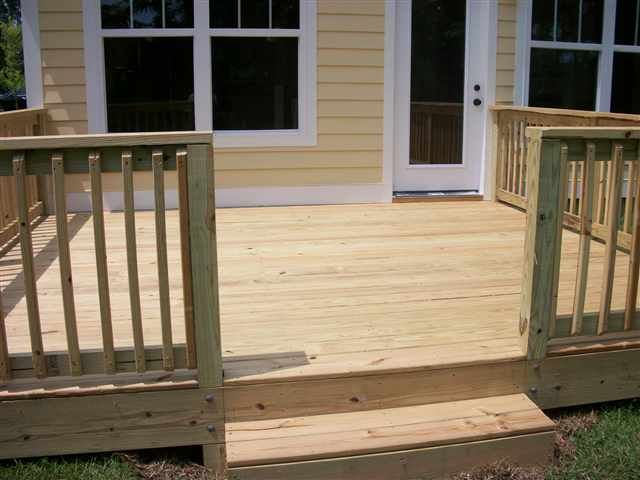 Top 25 best Simple deck ideas ideas on Pinterest Small decks