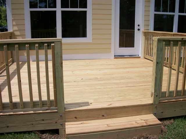 17 best cheap deck ideas on pinterest cheap landscaping. Black Bedroom Furniture Sets. Home Design Ideas