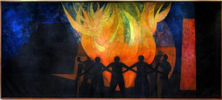 89 best images about rufino tamayo on pinterest natural for Mural rufino tamayo
