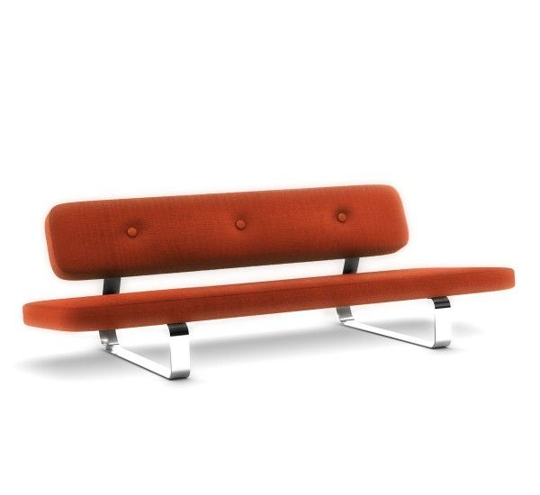 Power Nap of Marcel Wanders is a sofa from the futuristic and essential  structure for the brand Moooi. Two long and comfortable cushions, one for the back and one for the seat, covering the entire length of the sofa, supported by a steel structure that allows numerous positions. But also a sofa bed if necessary, is the latest futuristic idea of Marcel Wanders to devote time relaxing at 'sign design. Power Nap can be lifted and tilted, perfect for any occasion and unmistakable style…