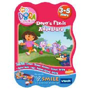 Vtech Dora V Smile Game This Dora the Explorer game from VTech is for use with the VSmile console and has been designed to make learning fun. The game features Dora the Explorer characters. Suitable for age range 3yrs . http://www.comparestoreprices.co.uk/educational-toys/vtech-dora-v-smile-game.asp