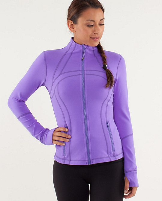 Define Jacket Lululemon Power Purple