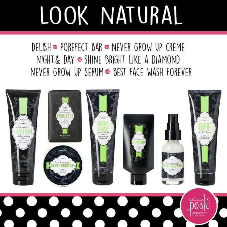 Perfectly Posh Look Natural   the best facial wash I used and top seller as well get them while they are hot. :)   https://thepamperedprincess.po.sh/