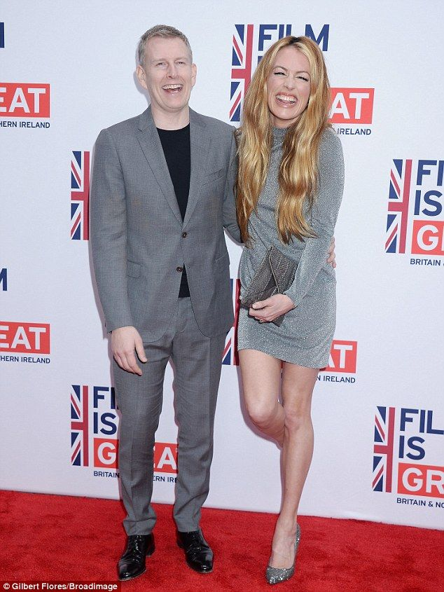 Beaming beauty! Cat Deeley, 40, was all smiles as she attended the star-studded event with husband Patrick Kielty, 46