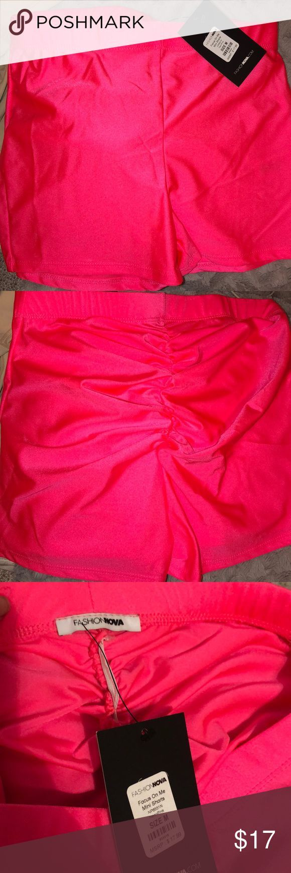 Pink Biker Shorts New ! Size M , bought the wrong size  Very cute nice fit the e…  – Biker Shorts
