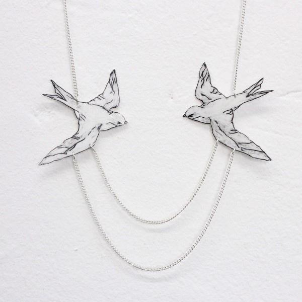 """anzu jewelry - Die """"Uferschwalbe""""  poke @La Belle Société"""