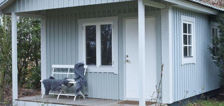 lichtgrijs houten huis - Google zoeken
