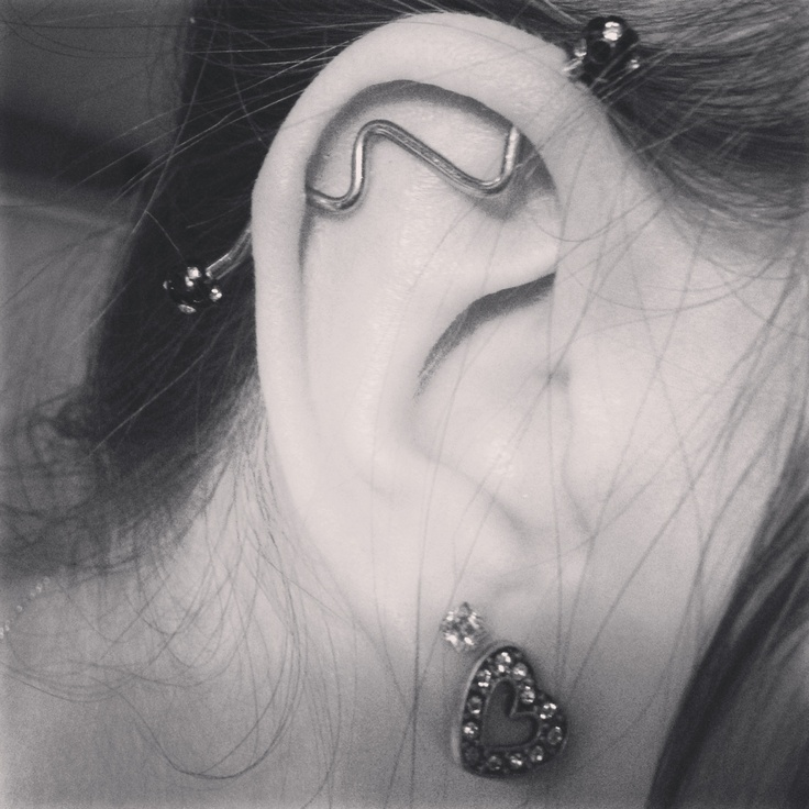 Obsessed! Industrial bar.