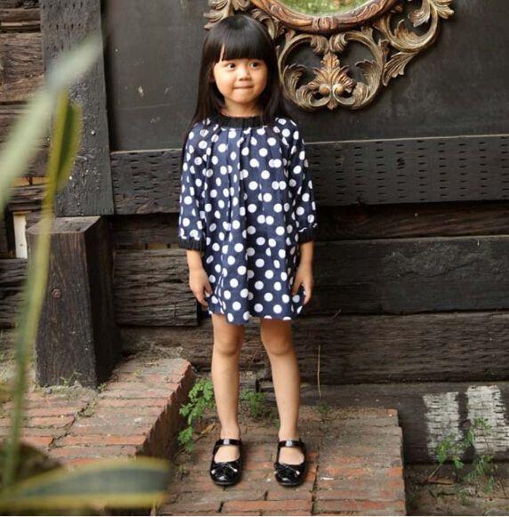 Новая Девушка Одежда Мода Марка Свободные Блузки Для Детей Одежда Три Четверти Рукав Рубашки 2-7 Лет