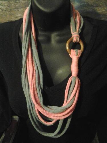 Collares De Moda Casuales Elaborados Con Tela -
