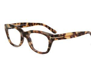 Tortoise Shell Eyeglasses by Tom Ford