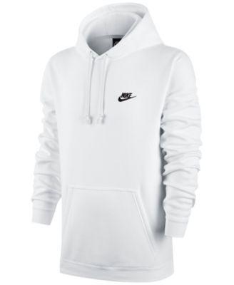 NIKE Nike Men's Pullover Fleece Hoodie. #nike #cloth # hoodies