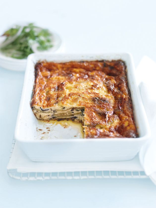 eggplant ricotta and parmesan bake from donna hay