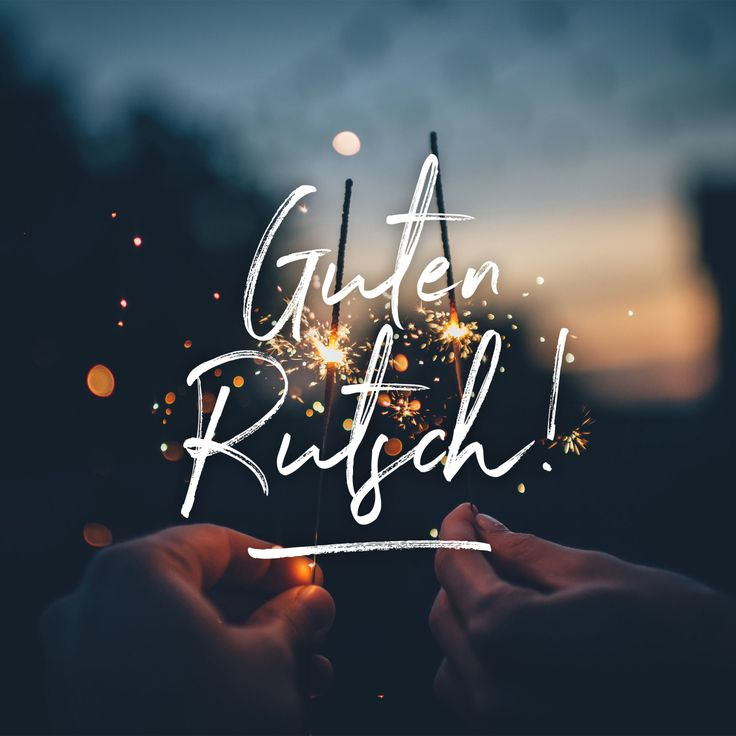 Guten Rutsch! – eat this!
