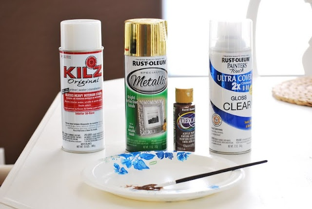 paint gold hardware i don 39 t like fake look metallic spray paint. Black Bedroom Furniture Sets. Home Design Ideas