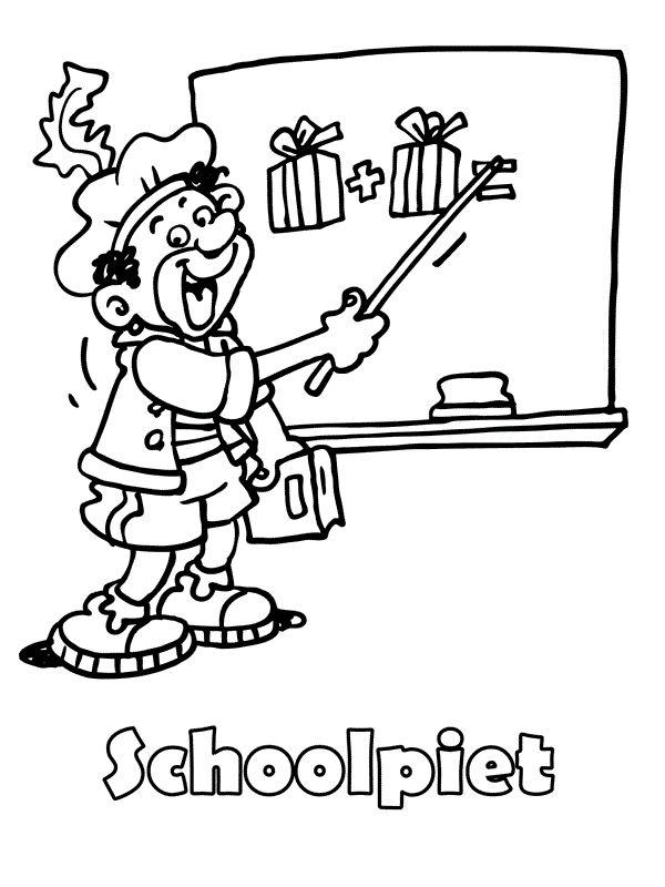 * Schoolpiet!