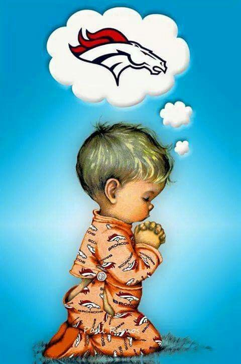 So cute! Go Broncos!
