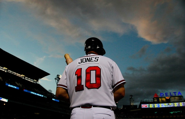 Chipper Jones, not sure any other player will ever replace this man in my heart or Braves history