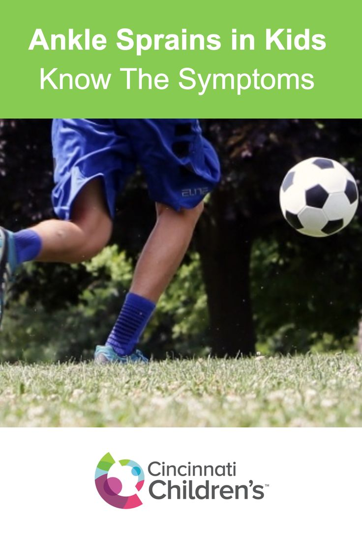 Ankle sprains are one of the most common injuries in kids that play sports. Learn more about the signs and symptoms.