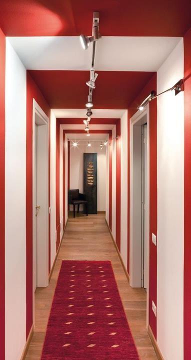 Corridoio idee per casa ele pinterest corridor bricks and lofts - Idee corridor ...