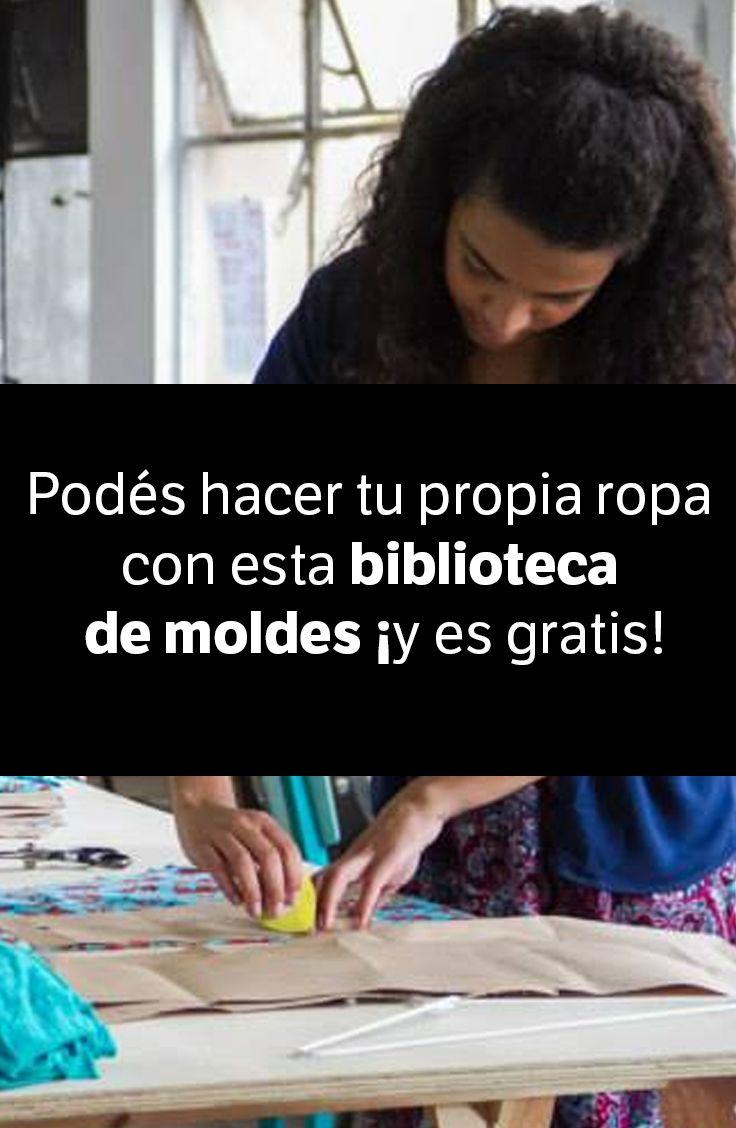 Podés hacer tu propia ropa con esta biblioteca pública de moldes ¡y es gratis! Si sabés coser vas a querer visitar este atelier ya mismo. http://elmeme.me/mariarambla/podes-hacer-tu-propia-ropa-con-esta-biblioteca-publica-de-moldes-y-es-gratis_98294