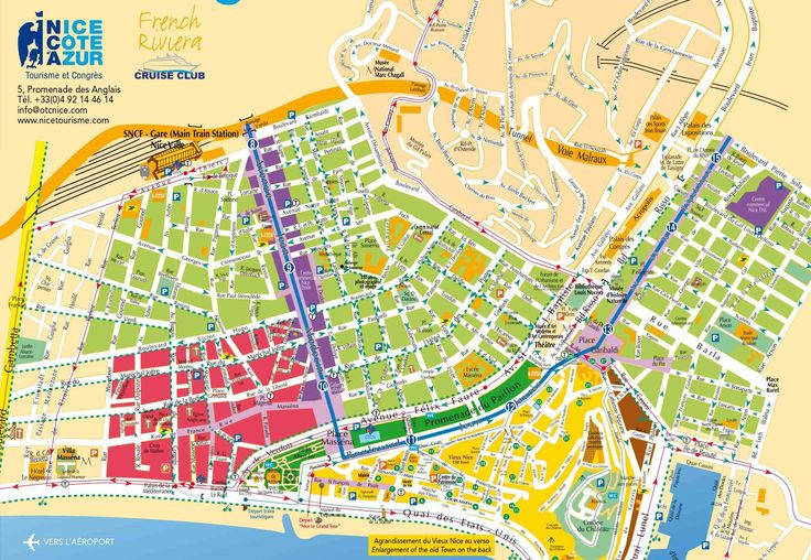 discover map of nice france the top s shortlisted for you by locals intheknow explore with us today city map of nice
