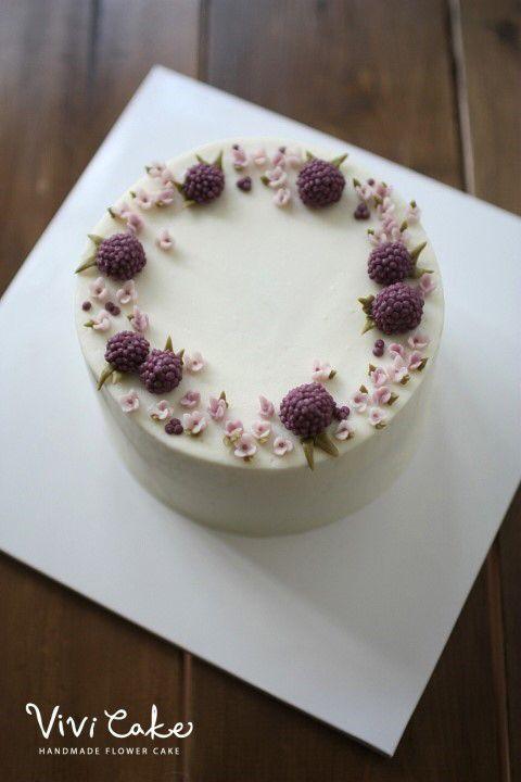 Korean flowercake