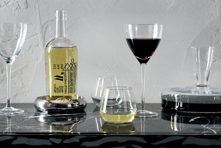 set of 8 blend stemless wine glass.