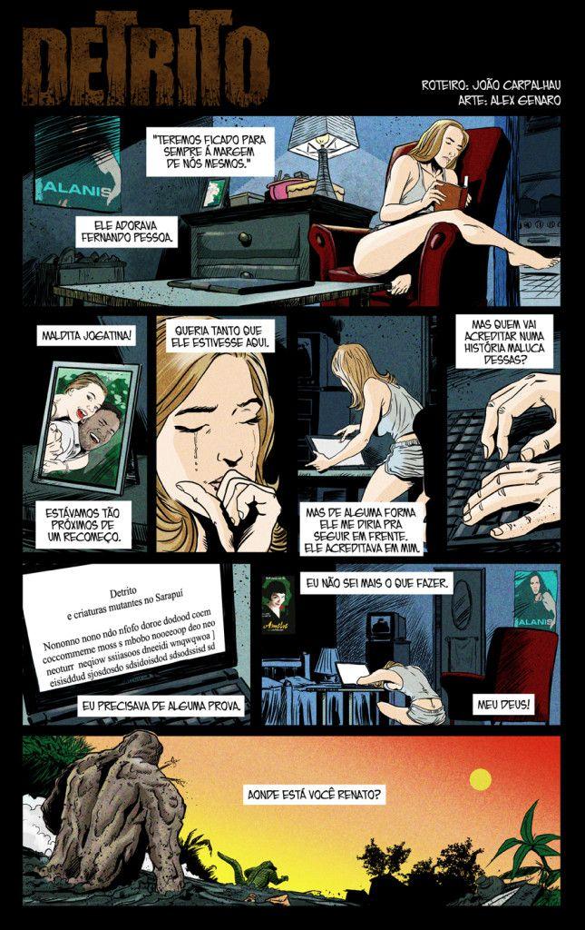 Detrito: A vida é um rio ‹ Capa ComicsCapa Comics