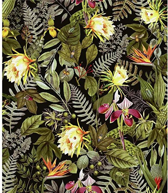 Amazon.com: peel and stick wallpaper floral | Peel and ...
