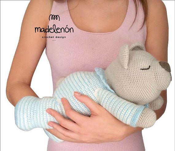 Sleepy Bear by Madelenon on Etsy