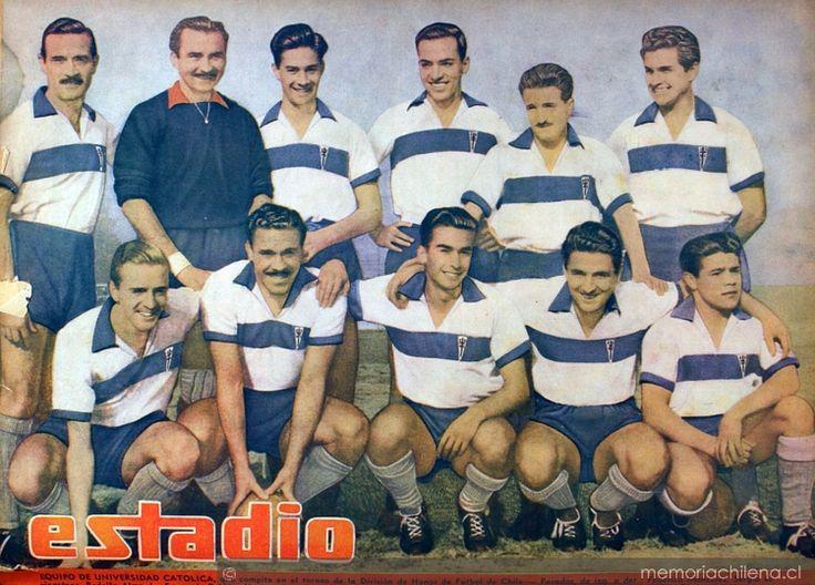 UC Campeón 1949, su primera copa, con el gran Charro Moreno