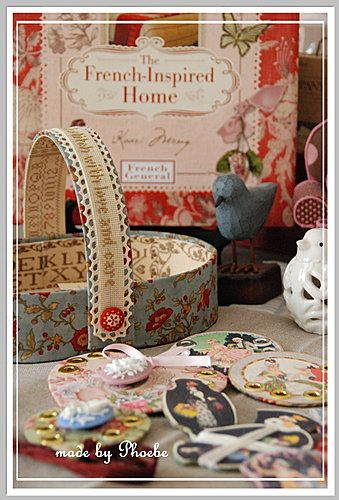 The Sampler Lady Basket - ~~☆ Phoebe 加州陽光手作小棧 ☆~~ - Yahoo!奇摩部落格