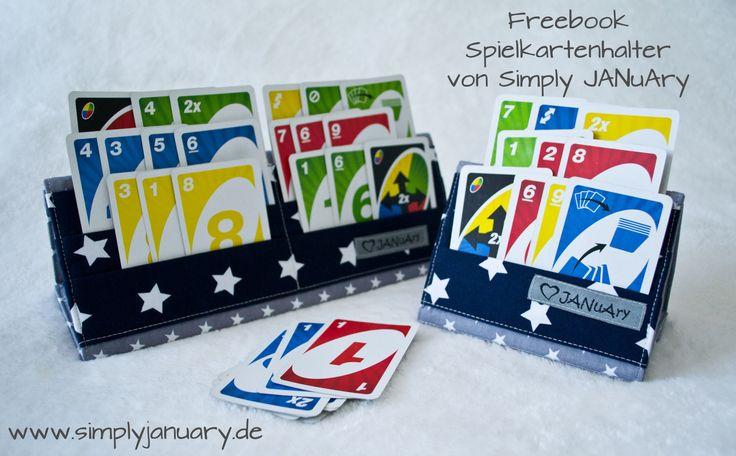 DIY Spielkartenhalter Freebook zum Selbernähen - Weihnachtsgeschenk für Kinder - Mit kostenlosem Schnittmuster zum Ausdrucken in zwei unterschiedlichen Größen