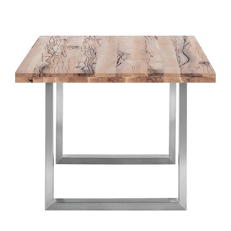 Tavolo da pranzo Gallipoli - Legno massello di quercia selvatica - 260 x 100 cm