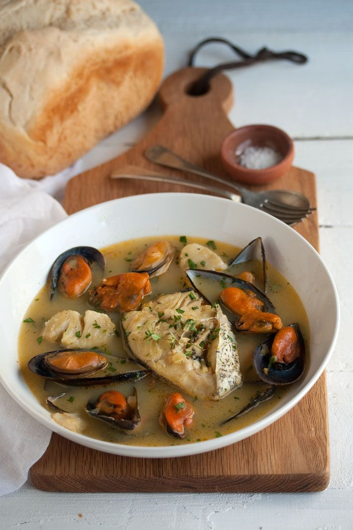 A delicious seafood bouillabaisse   Drizzle and Dip