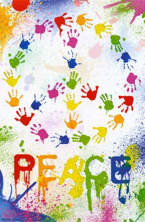 Peace sign room decorations trends in 2011   Room decorations ideas