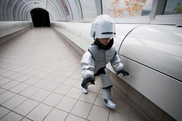 RoboKid Patrols Detroit (10 photos) - My Modern Metropolis