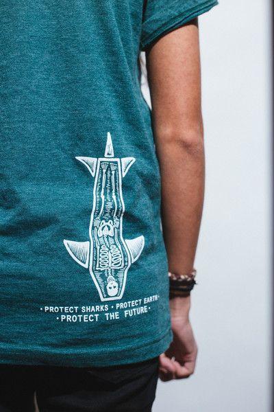 Stop Shark Finning Shirt- Skeleton